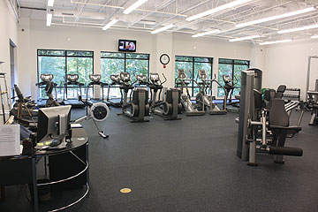 Fitness Room at Swim and Fitness Center