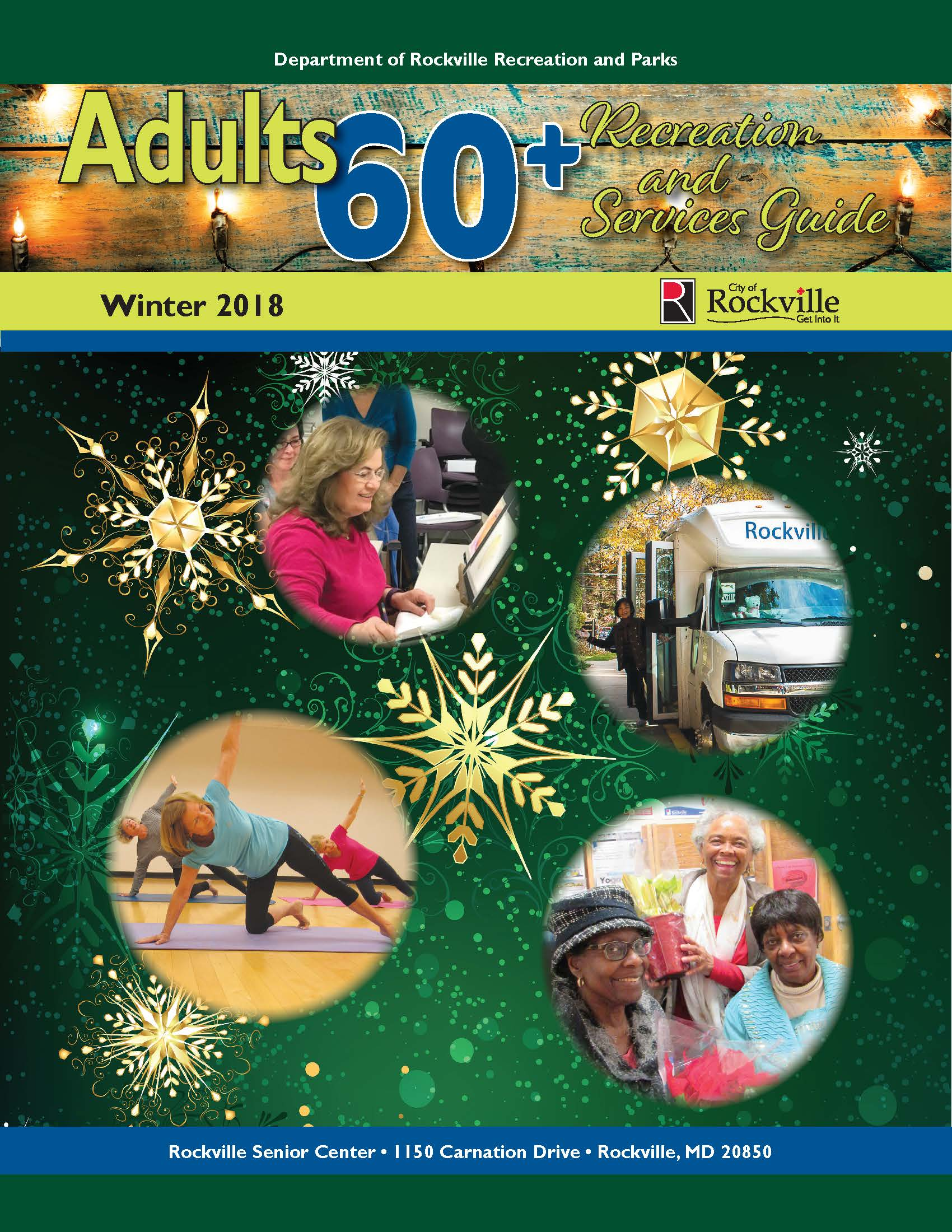 Adults 60+ Winter 2019 Cover