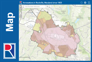 History of Annexations in Rockville Opens in new window