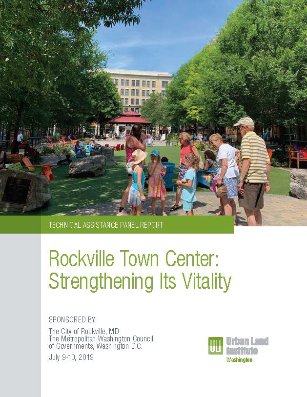 Cover Image of the ULI TAP Report for Town Center Opens in new window